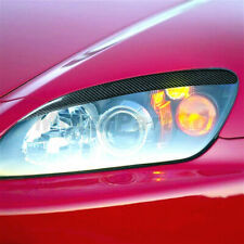 Carbon fiber light Eyelid Eyebrow Cover Trim For Honda S2000 AP1 AP2 SPORT 00-09