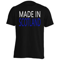 Made In Scotland Funny Novelty New Men's T-Shirt/Tank Top i11m