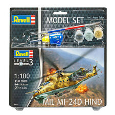 Revell Mil Mi-24D Hind Model Set (Level 3) (Scale 1:100) NEW