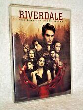 Riverdale Complete Season 3 (DVD, 2019, 4-Disc) NEW Luke Perry Lili Reinhart