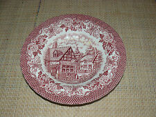 Suppenteller - Merrie olde England - Hostess Tableware - rot