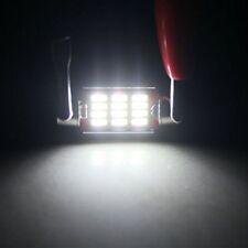 Pair of White 36mm Canbus Super Bright LED Bulbs 3423 3425 46413 6418 (White)