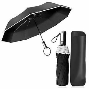 Parapluie Pliant Coupe-Vent a Ouverture Automatique Parapluie Automatique Voyage