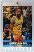 1996 96-97 Stadium Club Rookie Kobe Bryant RC #R12, Insert Los Angeles Lakers