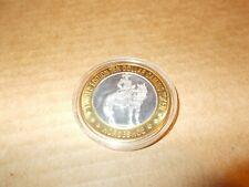 Horseshoe casino $10 gaming token .999 Fine Silver /plastic cs Limited Edition