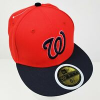 Washington Nationals Nats Baseball Hat Cap 59Fifty New Era Kids 6 3/4 Fitted NWT
