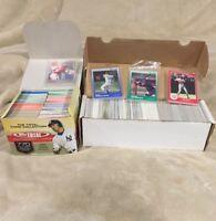 Lot of Over 1000 Baseball Cards Upper Deck Topps Donruss Score 80' 90's 2000's