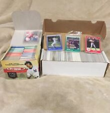 Lot of Over 1000 Baseball Cards Upper Deck Topps Donruss Score 80' 90's 2000's