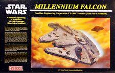 THE ORIGINAL STAR WARS MILLENNIUM FALCON FINEMOLDS MODEL KIT 1:72 Scale MINT