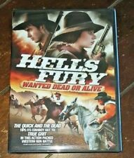 Hells Fury: Wanted Dead or Alive (DVD, 2012) Free Shipping!