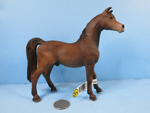SCHLEICH Arabian Stallion-#13629- Bay-2008-Excellent Condition With Tag