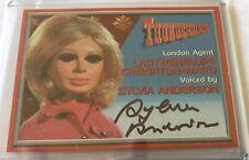 Thunderbirds SYLVIA ANDERSON, Lady Penelope Autograph Card Cards Inc