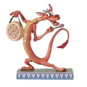 Jim Shore Disney Traditions - Mushu Personality Pose Look Alive! Figurine