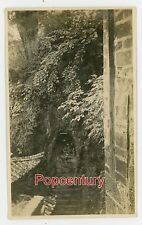 WW2 Photograph 1945 China Burma Road Ledo CBI GSS Kunming Cave Temple