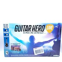 New (No Game Disc) Guitar Hero Live Video Game for iPhone iPad iPod Touch