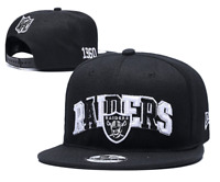 Las Vegas Raiders NFL Football Embroidered Hat Snapback Adjustable Cap