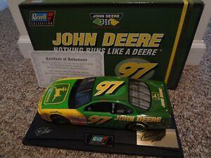 1/18 Revell CHAD LITTLE #97  JOHN DEERE  1997 Pontiac Grand Prix SIGNED