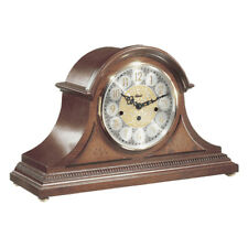 Hermle Amelia Mantel Clock With Key Wind Movement and Cherry Finish