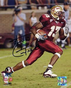 Antonio Cromartie signed Florida State Seminoles 8x10 Photo - Tri-Star Hologram