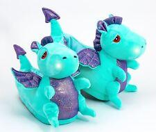 Dragon Illuminé Led Pantoufles Adulte Taille 4 - 8