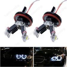 CANBUS LED BMW E60 E82 E87 E90 E92 H8 6W ANGEL EYES MARKER HALO HEAD LIGHT BULBS