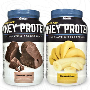 Grass-Fed Whey Protein Isolate & Colostrum | 100% Natural Grass-Fed Whey Protein