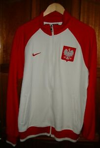 POLAND NIKE FOOTBALL TRACK SUIT TOP POLSKA M