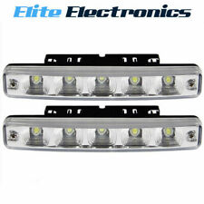AERPRO 5W MULTI-FIT DTRL 5 LED DAYTIME RUNNING LIGHTS W/ MOUNTING BRACKETS