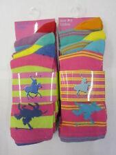 Unbranded Striped Cotton Blend Socks for Women