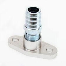"""Kinugawa Turbo Aluminum Oil Return Flange Straight 3/4"""" barb Garrett T3 T4 T04B"""