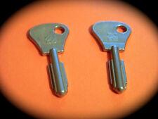 CHUBB AVA Keyblank Pair-Pushlock, Safe, Abloy, Safe Deposit, Key Blank-LQQK!
