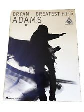 Bryan Adams: Greatest Hits (Guitar Recorded Version). Very Good Condition. Used