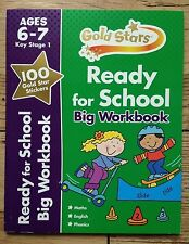 Big Workbook Maths, English, Phonics Key Stage 1 for Kids/Children Age 6-7