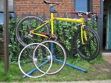 """SlingShot flatbar road bicycle Spare wheel set 18"""" c-t Many new parts"""