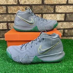 Nike Kyrie 4 EP (Size 11.5) AJ1691-001 'City Guardians' Grey/Green Shoes