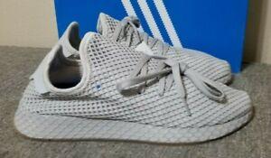 Adidas Deerupt Runner Men's Athletic Shoes Three Grey Gum CQ2628 New US Size 9