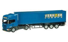NZG 704-02 Scania R 40 Foot Container Truck - Verhoek - Die-cast 1/50 MIB
