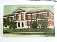 1909-1915 PURDUE UNIVERSITY POSTCARD of Agricultural Building Lafayette Indiana