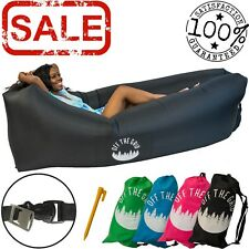 Inflatable Lounger - Air Wind Chair Hammock - Floating/Portable Sofa for Camping