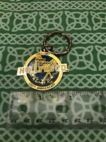 Happy Birthday Hollywood 100th Anniversary 1887-1987 Enamel Keychain RARE