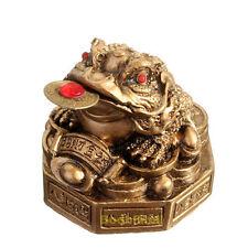 Golden Feng Shui Lucky Money Toad