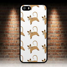 CAT PATTERN CUTE PHONE CASE IPHONE 4 4S 5 5S SE 5C 6 6S 7 8 PLUS X XR MAX 11 PRO