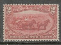 Scott #286 Mint Two Cent, 1898 Trans-Mississippi Expo.