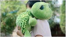 """groß 22""""(55cm) grün große Augen Schildkröte Plüsch Tier- Kuscheltier"""