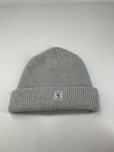 H&M Genuine Edition  Unisex beanie acrylic wool blend medium - large grey