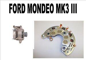 For FORD MONDEO MK3 III 1.8 2.0 16V 2000 - 2007 NEW ALTERNATOR RECTIFIER