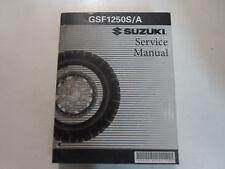 2008 Suzuki GSF1250S/A Service Repair Shop Manual WORN FADED COVER FACTORY OEM