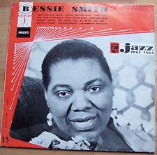 """BESSIE SMITH vinyle 25cm TBE P 07.824 R philips """"JAZZ pour tous"""" n° 13 BLUES"""