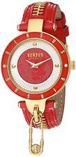 Versus by Versace Women's SCK070016 'KEY BISCAYNE II' Leather Red Watch