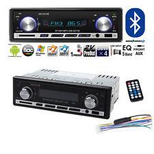 Car In-Dash FM Radio Stereo Audio Receiver Bluetooth MP3 Player USB Aux Input WA